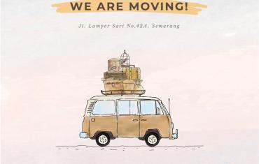 We Are Moving our Semarang Studio!